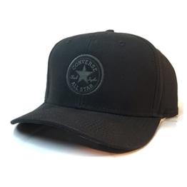 Converse Mild Curve Snapback Cap - Black -