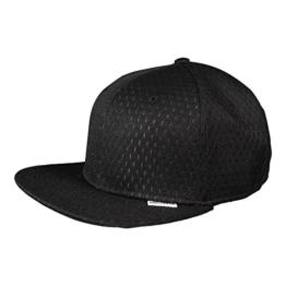 Converse Unisex Cap Athletic Mesh Snapback Black (schwarz) -