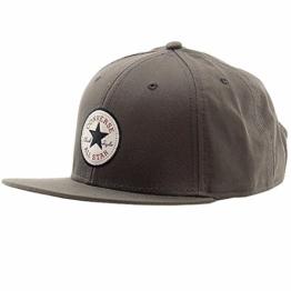 Core Twill Snapback Cap Converse casquette hip hop casquette (taille unique - gris) -