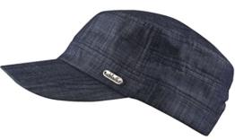 CORFU Schirmmütze / Schildmütze in dark Jeans, Castro Cuba Cap (dark Jeans) -