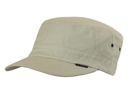 CORTEZ BEIGE Armycap Kubacap Baumwolle von Göttmann UV-Schutz 40+ -