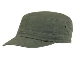 CORTEZ OLIV Armycap Kubacap Baumwolle von Göttmann UV40+ Größe 57 -