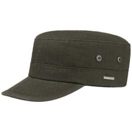 Cotton Army Cap Armycap Baumwollcap Kappe Baumwollkappe Armymütze Stetson Baumwollcap Cap (XL/60-61 - oliv) -