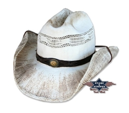 Cowboyhut Snake Used-Look von Stars&Stripes Country Western Hut , Größe:L -