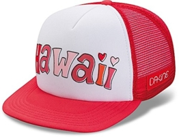 DAKINE Damen Baseball Cap Hawaii Trucker, Red Coral, One size, 8640030 -