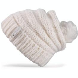 DAKINE Damen Mütze Scrunch, Ivory, One size, 08680033 -