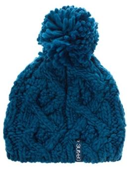 Dakine MIA Blau 8680576-2313 Strickmütze Wintermütze Mütze Beanie Bommelmütze mit Bommel -
