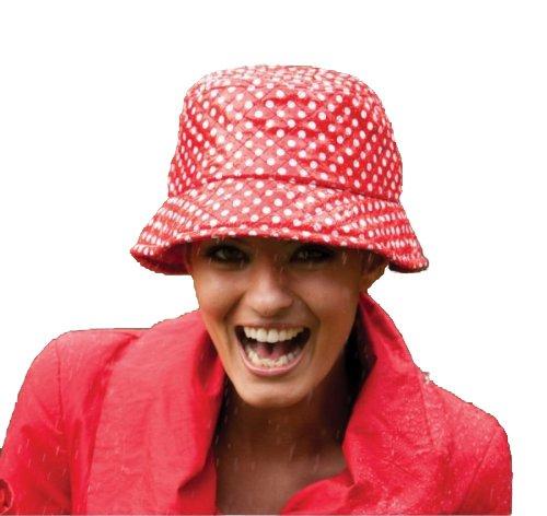 Peppiger Regenhut für Damen