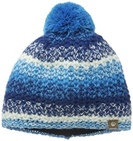 Damen Strickmütze Bergisel, Mehrfarbig, Gr. One size, Blau (graublau 572) -
