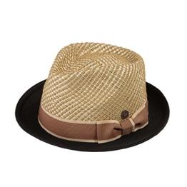 Dasmarca Copacabana Hay Men's Women's Straw Summer Trilby Hat - XL -