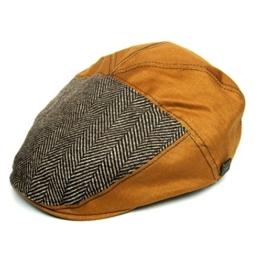 Dasmarca Dean Bernstein TweedKappe Wintermütze Wollmütze Flatcap - L -