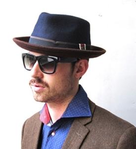 Trilby Hut von Dasmarca