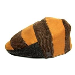 Dasmarca Gavin Mapple TweedKappe Wintermütze Wollmütze Flatcap - L -
