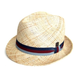 Dasmarca Malta Natural Light Weight Bao Straw Sommer-Hut L -