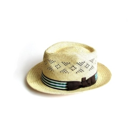 Dasmarca Sommer Palm Stroh -Fedora-Hut - Bahamas XL -