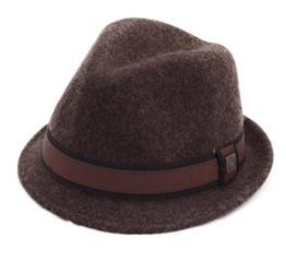 Dasmarca - Trilby Hut Herren Justin - Size XL - dk-brown -