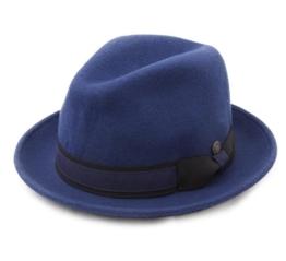 Dasmarca - Trilby Hut herren Robin - Size L - cobalt -