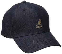 Denim Flexfit Baseballcap Kangol Sommercap Schirmmütze (S/M (54-57) - denim) -