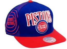 DETROID PISTONS - MITCHELL & NESS SNAPBACK - NJ10Z - ROYAL / RED Größentabelle: One-size-fitts-all -