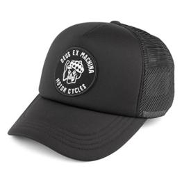 DEUS Kappe Smokey Trucker - black -