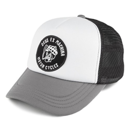 DEUS Kappe Smokey Trucker - grey -