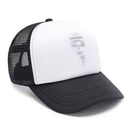 DEUS Kappe Trucker November - black white -