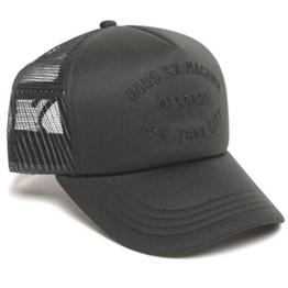 DEUS Kappe Trucker NYCITY - black -