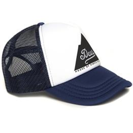DEUS Peak Trucker cap - Navy -