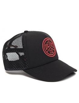 DEUS Trucker cap Peace - black red -