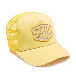 DEUS Trucker Kappe Foxtrot Shield - yellow -