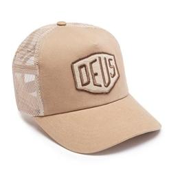 DEUS Trucker Kappe Foxtrot Shield - tan -