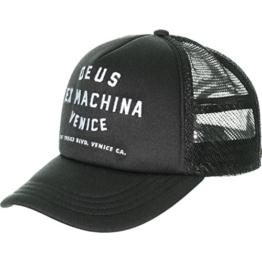 DEUS Venice Address Trucker cap - Black -