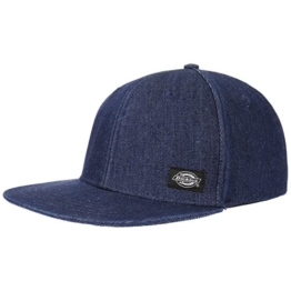 Dickies East Rockhill Flat Brim Cap Snapback Basecap Baseballcap Kappe Käppi Cap Basecap (One Size - denim) -