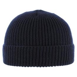 Diebesmütze Classic mit Teflon Umschlagmütze Wintermütze (One Size - blau) -