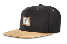 DJINNS - 10oz Canvas (black) - Snapback Cap -