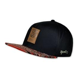 DJINNS - Aztec (black) - Snapback Cap -