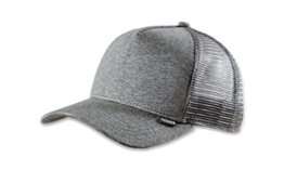DJINNS - Cut & Sew (grey heather) - High Fitted Trucker Cap -