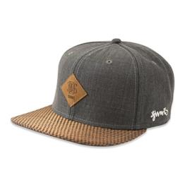 DJINNS - Glencheck (grey) - Snapback Cap -