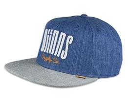 Djinns Herren Caps / Snapback Cap Denim 3.0 -