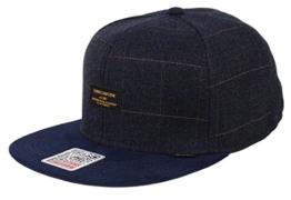 Djinns Herren Caps / Snapback Cap Sherlock 6 Panel blau Verstellbar -
