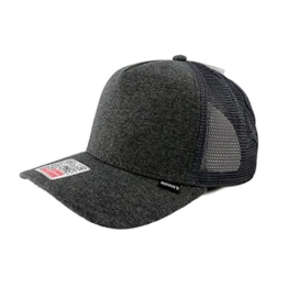 Djinns Herren Caps / Trucker Cap Cut & Sew High Fitted grau Verstellbar -