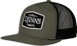 Djinns Herren Caps / Trucker Cap Old School olive Verstellbar -