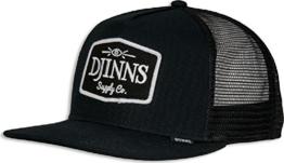 Djinns Herren Caps / Trucker Cap Old School schwarz Verstellbar -