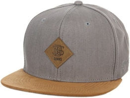 Djinns Herren Linen Snapback Cap - grau -