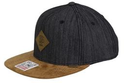 DJINNS - Linen 2015 (black) - Snapback Cap -