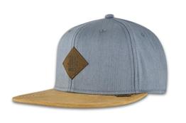 DJINNS - Linen 2015 (grey) - Snapback Cap -