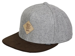 DJINNS - Rhomb (brown/grey) - Snapback Cap -