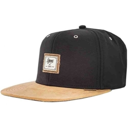 Djinns Snapback Cap 10oz Canvas Basecap 6 Panel Kappe Black -