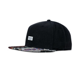 DJINNS - We love ugly (black) - Snapback Cap -
