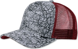 DJINNS - We love ugly (burgundy) - Trucker Cap -